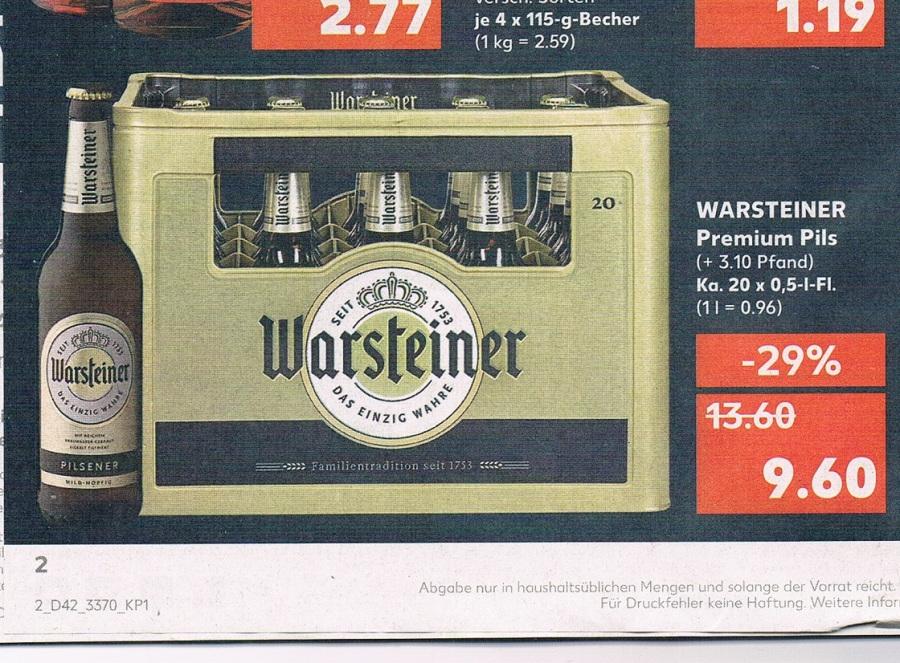 Aktion Gutes Bier Getränke Märkte